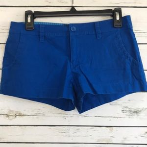 Guess blue shorts size 26
